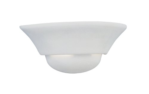 Designers Fountain 6031-WH Wall Sconce, 6 in. in