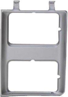 QP G0716-c Chevy Suburban Silver Driver Headlight Door Grille