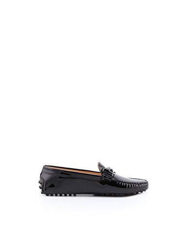 Loafers XXW00G0T960OW0B999 Leather Black Tod's Women's nPawT7