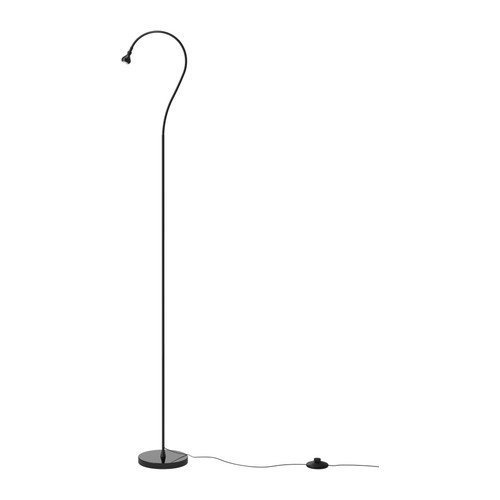 Ikea Jansjo Floor/Reading Lamp, Black