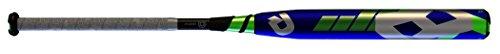 DeMarini CF7 Insane -10 Fastpitch Baseball Bat, Black/Green, 33-Inch/23-Ounce
