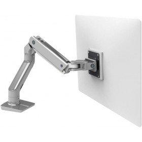 Ergotron 45-475-216 HX Desk Mount Monitor Arm in color Bright White for 20 -42 lbs Monitors