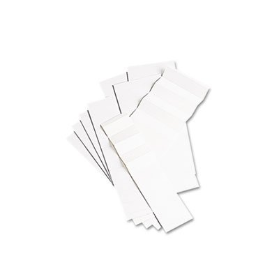 Pendaflex Products - Pendaflex - Blank Inserts for Hanging File Folders, 1/5 Tab, 2 in, White, 100/Pack - Sold As 1 Pack - Perforated and scored sheets tear and fold into strips of ten. - Blank for up to three lines of type. -