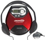 Philips Portable CD Player (Red) - Philip Player Cd