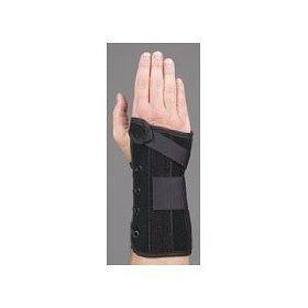 """Med Spec Wrist Lacer, 8"""" Black - Medium Right"""