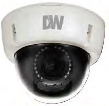 Digital Watchdog Starlight MegaPix Indoor/Outdoor Dome Camera with 2.8 – 12mm Lens (NTSC) DWC-V5661TIR