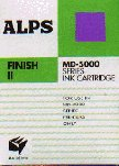 - Alps Finish II Ink Cartridge for MD-5000