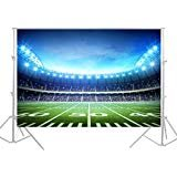 HUAYI Football Field Backdrop Newborn Photography Props Photography Background Baby Photo Studio Props 5x7ft YJ-024 ()