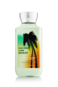 Bath & Body Works Shea & Vitamin E Body Lotion Coconut Lime Breeze 8oz