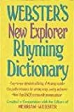 Webster's New Explorer Rhyming Dictionary, Merriam-Webster, Inc. Staff, 1892859351