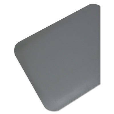 Pro Top Anti-Fatigue Mat, PVC Foam/Solid PVC, 24 x 36, Gray, Sold as 1 (Top Pvc Foam)