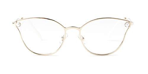 - Eyeglasses Miu MU 53 QV ZVN1O1 PALE GOLD
