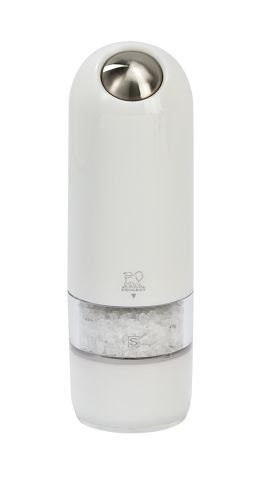Peugeot Alaska Electric Salt Mill, 7-Inch, White by Peugeot