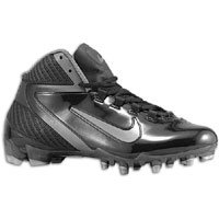 Nike Alpha Speed TD Black silver gray football cleats men shoes (9)