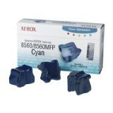 - Xerox - Solid inks - 3 x cyan - 3400 pages - for Phaser 8560 (108R00723) -