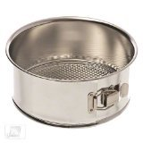 Browne (746061) 8'' Polished Tin Spring Form Cake Pan by Browne Foodservice