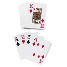 Standard Pinochle Playing Cards (One Dozen)