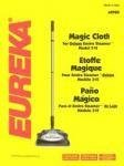 Eureka Deluxe Enviro Steamer 310 Series Magic Cloth