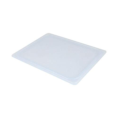 Cambro 20PPCWSC438 Food Pan Flexible Seal Cover, Translucent, 1/2 Size, Case of 6