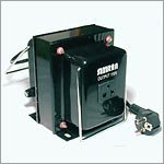 Simran THG-750 Step Up / Down Voltage Transformer 750 Watts Works with both AC 110 Volts and 220 Volt - Use Worldwide by Simran