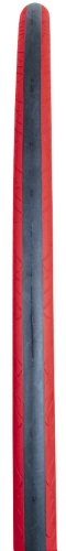 Serfas Folding Seca Tire with FPS, Red, 700X23 (Seca Road Tire)