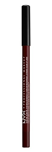 NYX PROFESSIONAL MAKEUP Slide On Lip Pencil - Dark Soul, Deep Wine Red