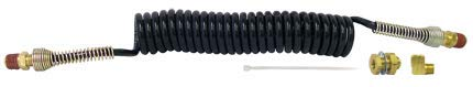 Tectran 14210-72 Fifth Wheel Slider Coil Kit with Fittings and Springs, 72'' Working Length