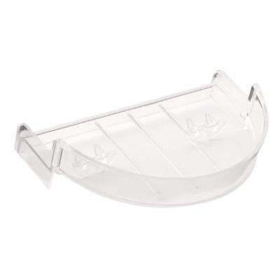 Franklin Brass GIDS-553087 Replacement Plastic Soap Dish - Recessed Brass Soap Dish