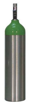 Aluminum Oxygen Cylinder, Size D