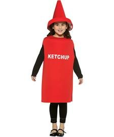 Ketchup Costume - Medium - Ketchup Halloween Costume