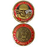 United States Army Only One Deal Double Sided Collectible Military Challenge Coin