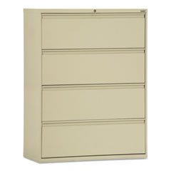 - Sandusky Lee LF8F364-07 800 Series 4 Drawer Lateral File Cabinet, 19.25