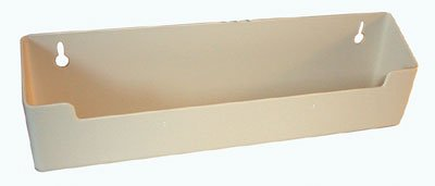 Kv Plastic Tip Out Trays Without Stop 14'' Standard White by Knape & Vogt