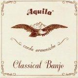 AQUILA Classic Banjo String Set, 6B, Light Tension, All Nylgut