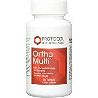 Protocol For Life Balance – Ortho Multi – Complete Multivitamin & Multi-Mineral – Complete Nutrition Fortified with Naturally Organic Flax Seed Oil, Lutein & Lycopene – 90 Softgels Review