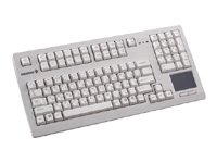 CHERRY G80 Compact TouchBoard, PS/2, Light Gray - 104 key