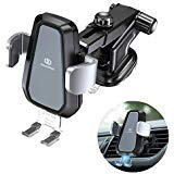 DesertWest Wireless Car Charger Mount, Automatic Clamping 10W Qi Fast Charging Car Phone Holder Dashboard Air Vent Compatible Samsung Galaxy S10/S10+/S10e/S9/S9+/S8/S8+, iPhone X/XS/XS Max