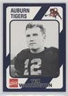 Tex Warrington (Football Card) 1989 Collegiate Collection Auburn Tigers - [Base] - Shops Warrington