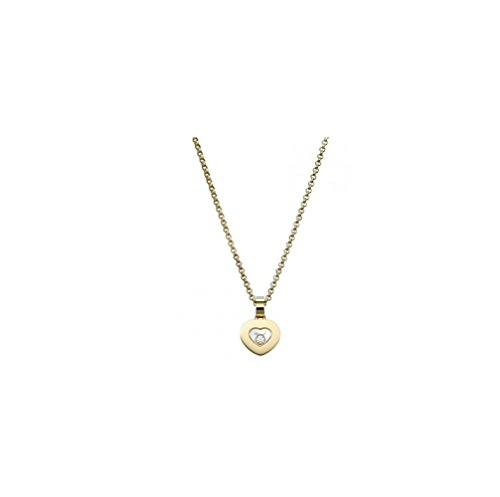 DS ICONS PENDANT 18K YELLOW GOLD AND DIAMOND 792897-0001 (Chopard Diamond Necklace)