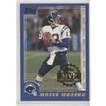 Moses Moreno (Football Card) 2000 Topps - MVP Promotion Sweepstakes Entry #MOMO