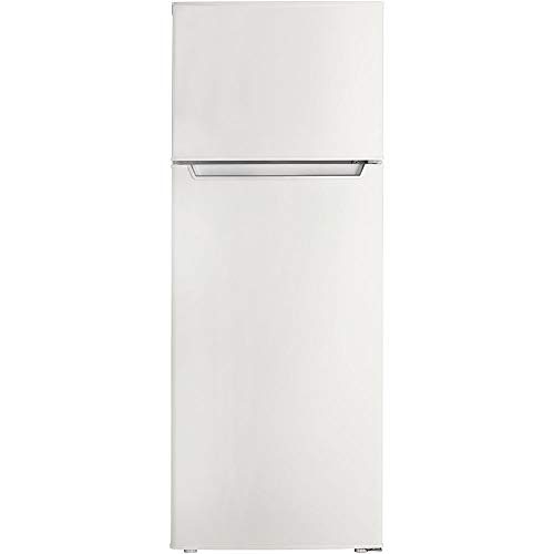 Danby Energy Star 7.3-Cu. Ft. Apartment Size Refrigerator with Top-Mount Freezer in White