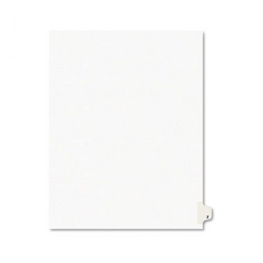 Avery 01426, Avery Individually Lettered Tabs Legal Dividers, AVE01426, AVE (Avery Individually Lettered Tabs)