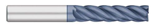 ALCRO-Max Coated 1-1//8 Length of Cut Corner Radius Long Length Titan TC27115 Solid Carbide End Mill 0.015 Corner Radius 3 Overall Length 5//16 Shank Diameter 5 Flute