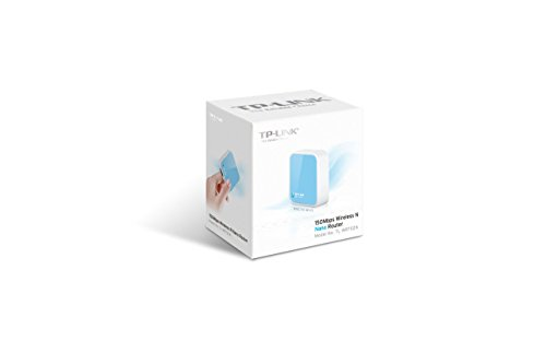 TP-Link N150 Wireless Nano Travel Router with Range Extender/Access Point/Client/Bridge Modes (TL-WR702N)