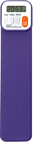 Mark-My-Time Digital Bookmark and Reading Timer - Purple