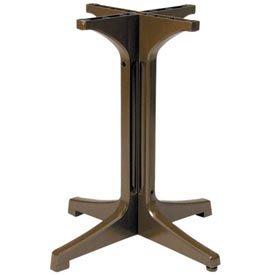 Resin Outdoor Pedestal Table Base 1000 - Bronze Mist