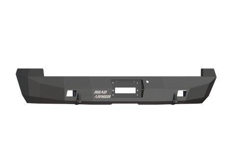 Road Armor 61800B Satin Black Rear Stealth Bumper for Ford Super Duty (Road Armor Ford)