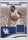 Dakari Johnson (Trading Card) 2016 Panini Kentucky Wildcats - Jerseys - [Base] #DJ-UK