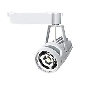 OKAMURA 配線ダクトレール用 LEDスポットライト エコ之助スーパー鮮度クン LED34W 青果花向け ワイド配光(Wレンズ) 光漏れタイプ 高演色高彩度 本体色:白 OECD3RHN30(Wレンズ)+青果花用フィルター B07RW55N5R