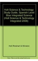 Read Online Holt Science & Technology: Study Guide, Spanish Level Blue Integrated Science pdf
